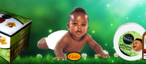 Baby Oil And Soap Banner